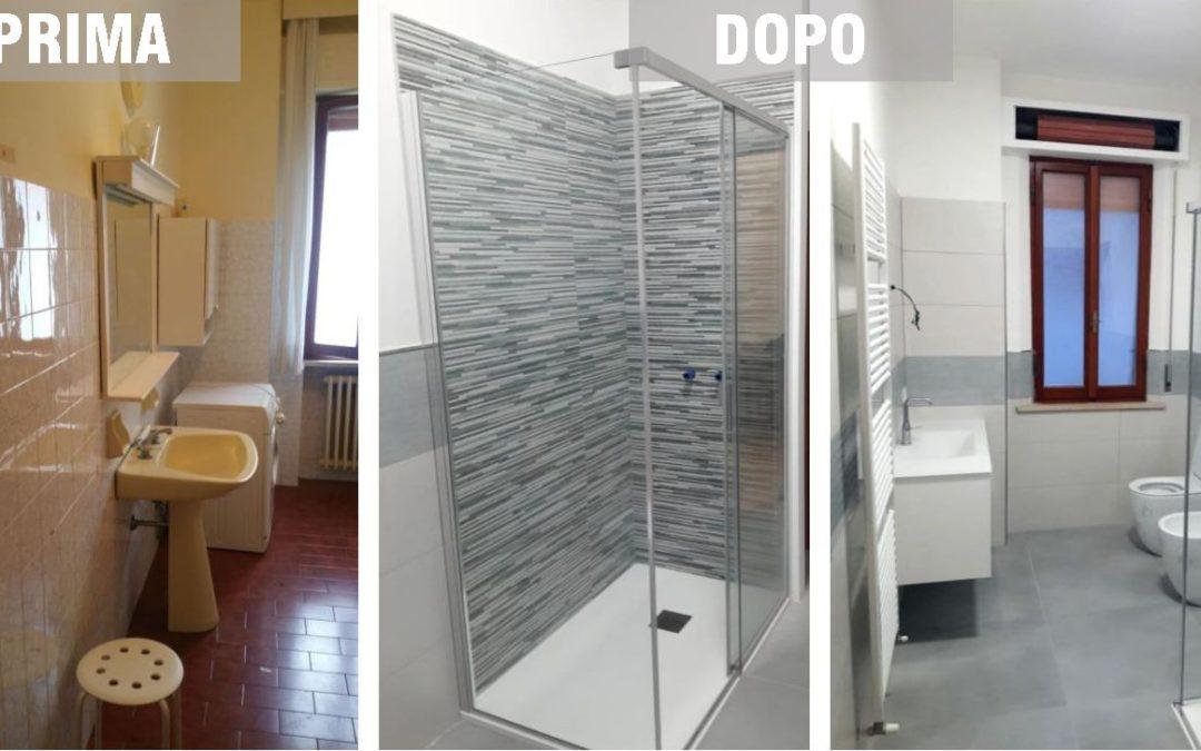 Montemarciano: rifacimento del bagno