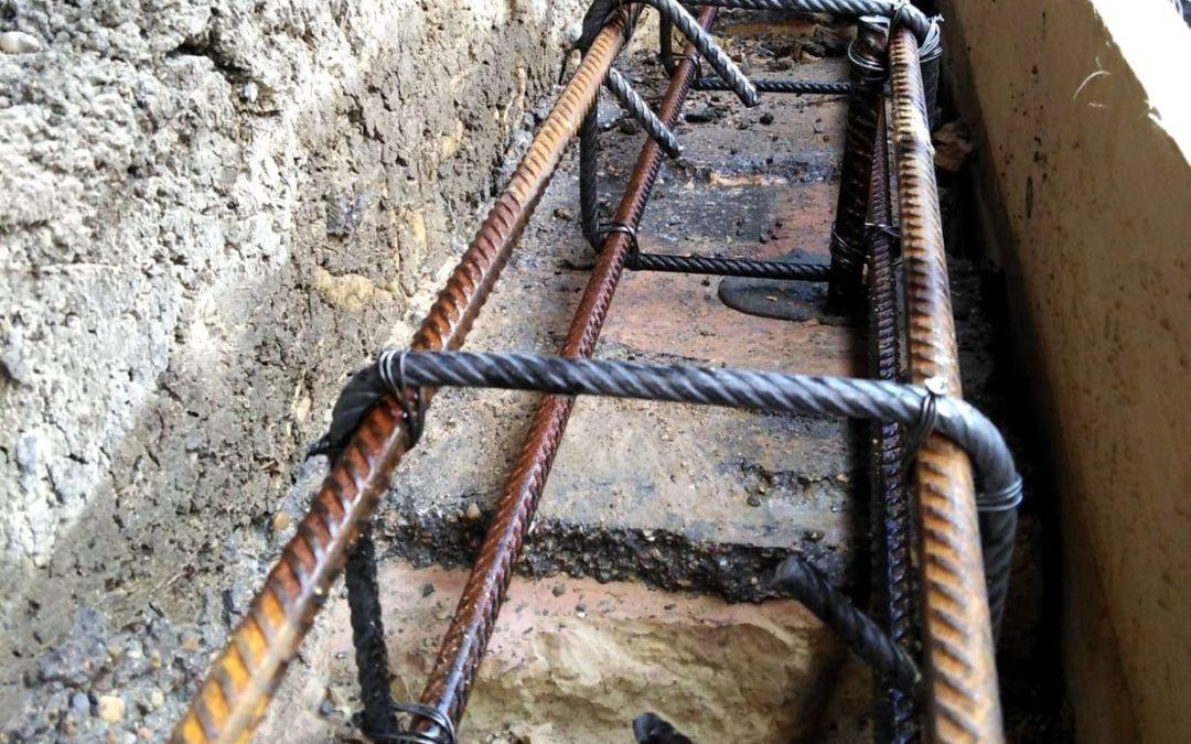 Ancona via Friuli: rifacimento muro di contenimento